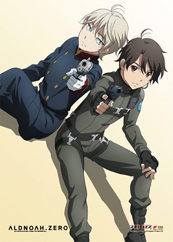 Aldnoah Zero - Group 03 Wall Scroll, an officially licensed Aldnoah Zero product at B.A. Toys.