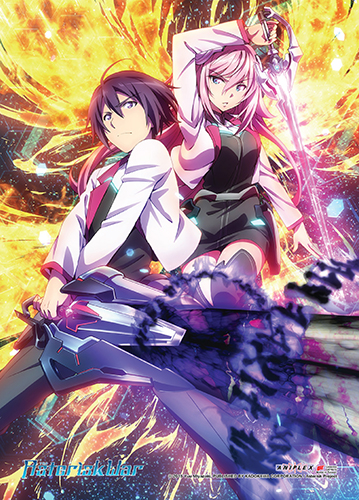 Asterisk War - Group 01 Wall Scroll, an officially licensed product in our Asterisk War Wall Scroll Posters department.