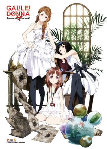 Galilei Donna - Group 01 Wall Scroll, an officially licensed product in our Galilei Donna Wall Scroll Posters department.