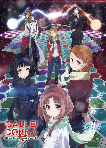 Galilei Donna - Group 02 Wall Scroll, an officially licensed product in our Galilei Donna Wall Scroll Posters department.