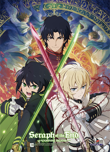 Seraph Of The End - Key Art 2 Wall Scroll, an officially licensed product in our Seraph Of The End Wall Scroll Posters department.