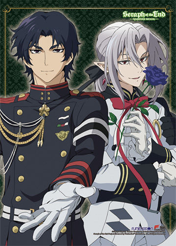 Seraph Of The End - Guren & Ferid, an officially licensed product in our Seraph Of The End Random Anime Items department.