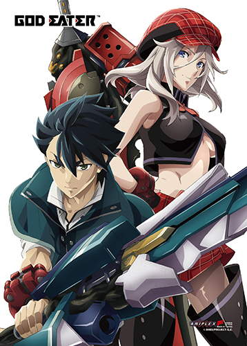 God Eater - Alisa & Lenka Wall Scroll, an officially licensed product in our God Eater Wall Scroll Posters department.