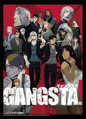Gangsta - Key Art Wall Scroll, an officially licensed product in our Gangsta Wall Scroll Posters department.