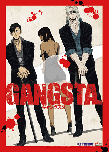 Gangsta - Group 1 Wall Scroll, an officially licensed product in our Gangsta Wall Scroll Posters department.