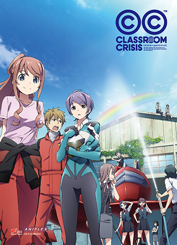 Classroom Crisis - Key Art 1 Wall Scroll, an officially licensed Classroom Crisis product at B.A. Toys.