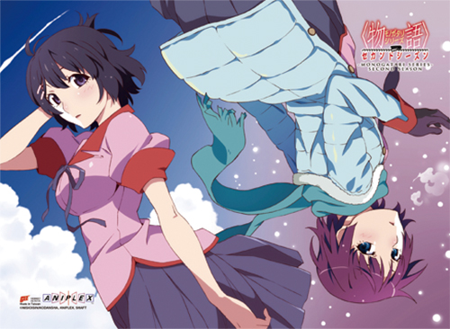 Monogatari Series 2Nd Season - Tsubana& Hitagi Wall Scroll, an officially licensed product in our Monogatari Series Wall Scroll Posters department.