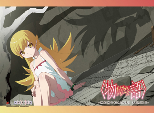 Monogatari Series - Shinobu Wall Scroll, an officially licensed product in our Monogatari Series Wall Scroll Posters department.