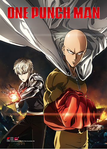 One Punch Man - Key Art 1 Wallscroll, an officially licensed product in our One-Punch Man Wall Scroll Posters department.