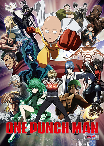 One Punch Man - Key Art 2 Wall Scroll, an officially licensed product in our One-Punch Man Wall Scroll Posters department.