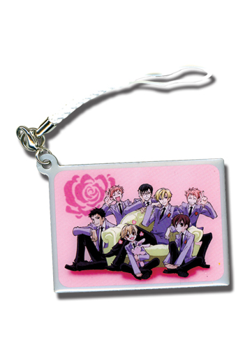 Ouran High School Host Club Group Cell Phone Charm, an officially licensed product in our Ouran High School Host Club Costumes & Accessories department.