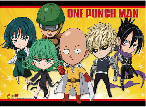 One Punch Man - Sd Group Wall Scroll, an officially licensed product in our One-Punch Man Wall Scroll Posters department.