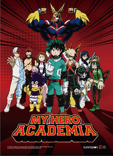 My Hero Academia - Hero Group Wall Scroll, an officially licensed product in our My Hero Academia Wall Scroll Posters department.