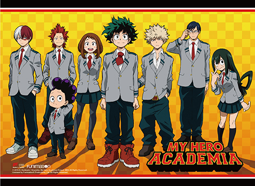 My Hero Academia - Uniform Group Wall Scroll, an officially licensed product in our My Hero Academia Wall Scroll Posters department.