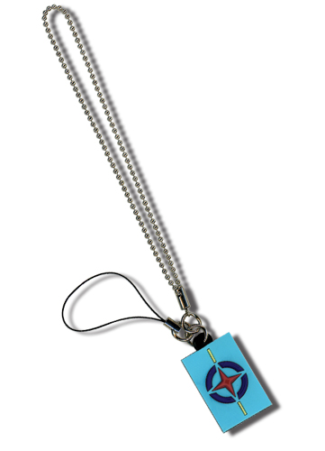 Gundam 00 Aeu Pvc Cell Phone Charm, an officially licensed Gundam Cell Phone Accessory