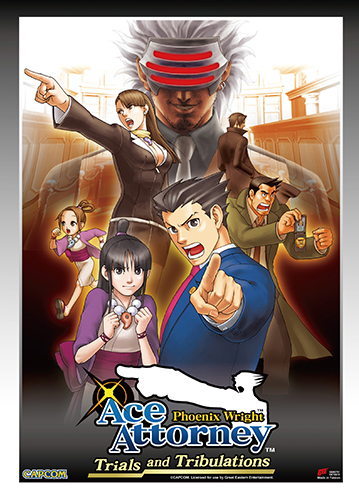 Ace Attorney - Aa3 Wall Scroll, an officially licensed Ace Attorney product at B.A. Toys.