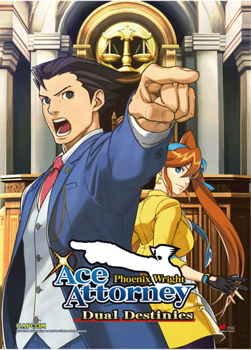 Ace Attorney - Aa5 Wall Scroll, an officially licensed Ace Attorney product at B.A. Toys.