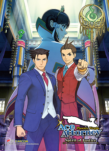 Ace Attorney - Aa6 Key Art Wall Scroll, an officially licensed Ace Attorney product at B.A. Toys.