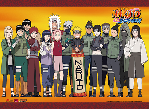 Naruto Shippuden - Character Group Wall Scroll, an officially licensed product in our Naruto Shippuden Wall Scroll Posters department.