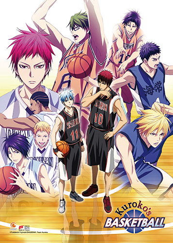 Kuroko's Basketball - S3 Key Art Wall Scroll, an officially licensed product in our Kuroko'S Basketball Wall Scroll Posters department.