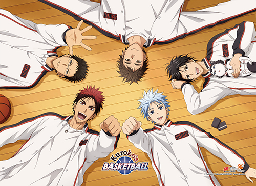 Kuroko's Basketball - S3 Friend Group Wall Scroll, an officially licensed product in our Kuroko'S Basketball Wall Scroll Posters department.