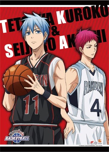 Kuroko's Basketball - S3 Kuroko & Akashi Wall Scroll, an officially licensed product in our Kuroko'S Basketball Wall Scroll Posters department.