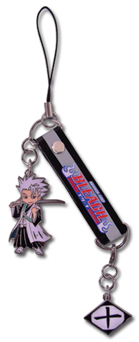 Bleach Hitsugaya Sd Cell Phone Charm, an officially licensed Bleach product at B.A. Toys.