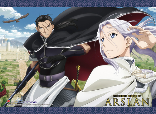 Heroic Legend Of Arslan - Arslan & Daryun Wall Scroll officially licensed Heroic Legend Of Arslan Wall Scroll Posters product at B.A. Toys.