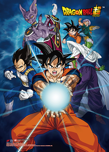 Dragon Ball Super - Batle Of Gods Group 01 Wall Scroll, an officially licensed product in our Dragon Ball Super Wall Scroll Posters department.