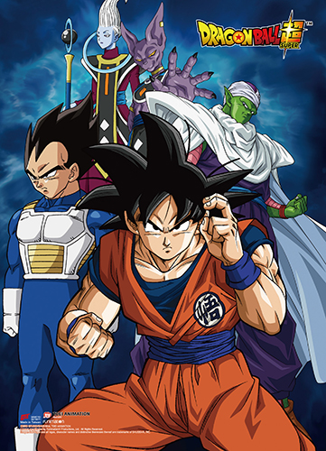 Dragon Ball Super - Battle Of Gods Group 03 Wall Scroll, an officially licensed product in our Dragon Ball Super Wall Scroll Posters department.