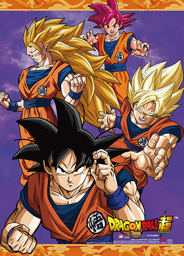Dragon Ball Super - Group 04 Wall Scroll, an officially licensed product in our Dragon Ball Super Wall Scroll Posters department.