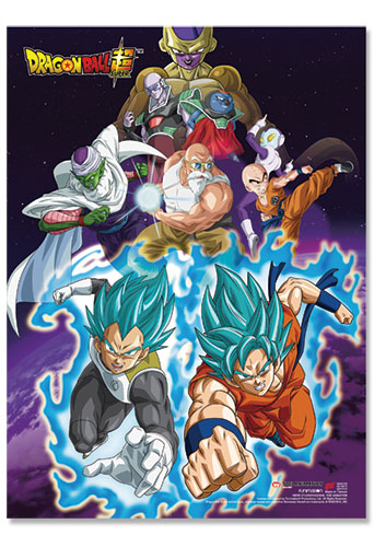 Dragon Ball Super - Ressurection F Group 01 Wall Scroll, an officially licensed product in our Dragon Ball Super Wall Scroll Posters department.
