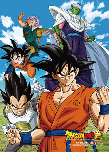 Dragon Ball Super - Resurrection F Group 02 Wall Scroll, an officially licensed product in our Dragon Ball Super Wall Scroll Posters department.