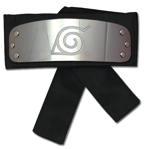 Naruto Shippuden Naruto Leaf Village Headband, an officially licensed product in our Naruto Shippuden Headband department.