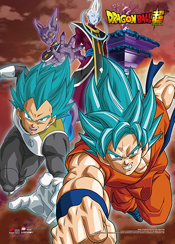 Dragon Ball Super - Resurrection F Group 04 Wall Scroll, an officially licensed product in our Dragon Ball Super Wall Scroll Posters department.