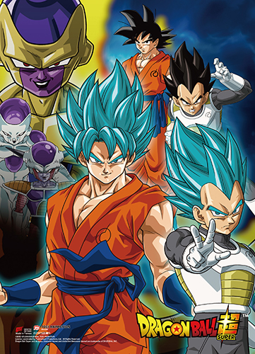 Dragon Ball Super - Resurrection F Group 05 Wall Scroll, an officially licensed product in our Dragon Ball Super Wall Scroll Posters department.