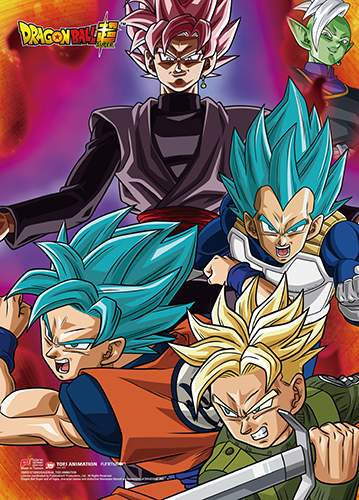 Dragon Ball Super - Future Trunks Group 01 Wall Scroll, an officially licensed product in our Dragon Ball Super Wall Scroll Posters department.
