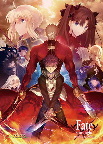 Fate/stay Night - Key Art 5 Wall Scroll officially licensed Fate/Zero Wall Scroll Posters product at B.A. Toys.