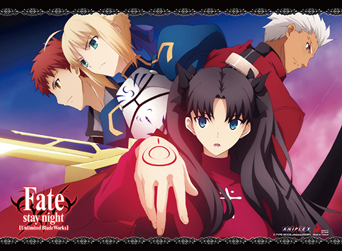 Fate/stay Night - Group 02 Wall Scroll officially licensed Fate/Zero Wall Scroll Posters product at B.A. Toys.