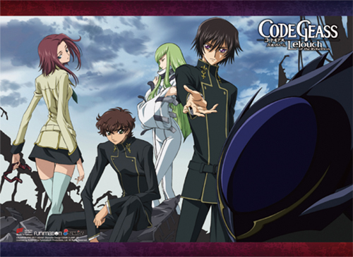 Code Geass - Group 3 Wall Scroll, an officially licensed product in our Code Geass Wall Scroll Posters department.