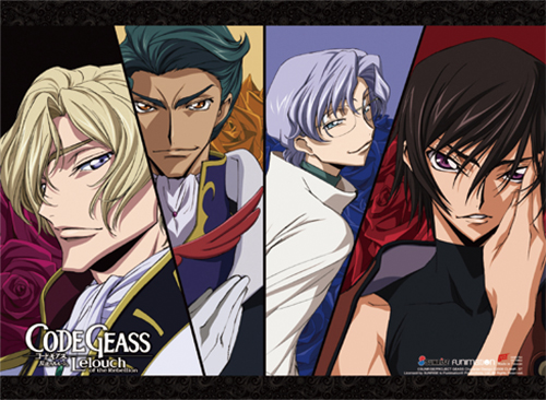 Code Geass - Group 04 Wall Scroll, an officially licensed product in our Code Geass Wall Scroll Posters department.