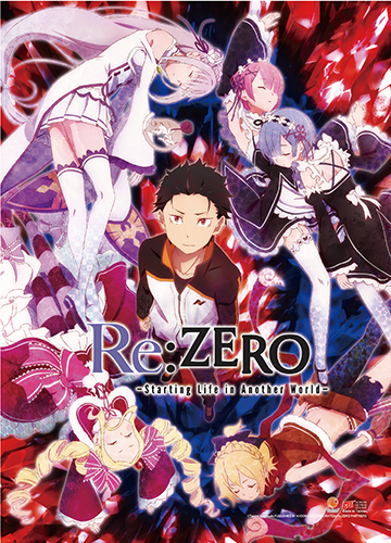 Re:Zero - Key Art Wall Scroll, an officially licensed product in our Re-Zero Wall Scroll Posters department.