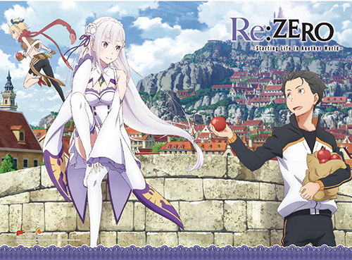 Re:Zero - Trio Wall Scroll, an officially licensed product in our Re-Zero Wall Scroll Posters department.