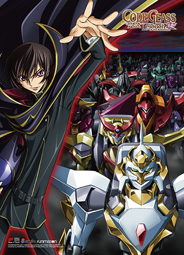 Code Geass S2 - Key Art 2 Wall Scroll, an officially licensed product in our Code Geass Wall Scroll Posters department.