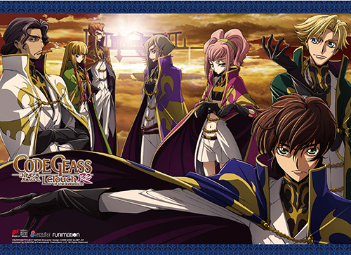 Code Geass S2 - Britannian Military Group Wall Scroll, an officially licensed product in our Code Geass Wall Scroll Posters department.