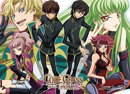 Code Geass S2 - Group 1 Wall Scroll, an officially licensed product in our Code Geass Wall Scroll Posters department.