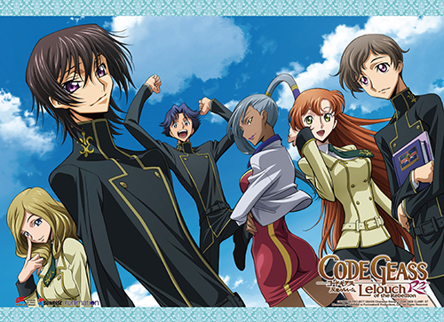 Code Geass S2 - Group 02 Wall Scroll, an officially licensed product in our Code Geass Wall Scroll Posters department.