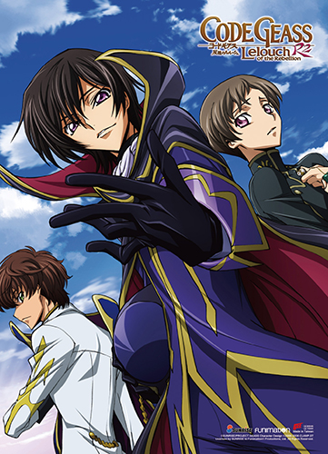 Code Geass S2 - Lelouch, Rolo, & Suzaku 2 Wall Scroll, an officially licensed product in our Code Geass Wall Scroll Posters department.