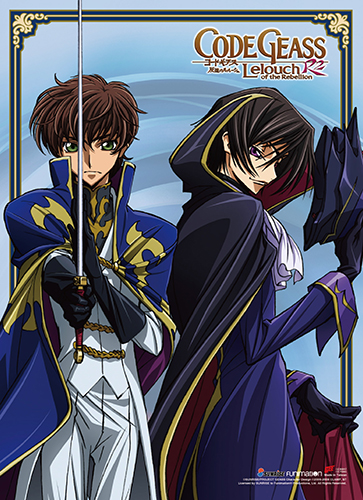 Code Geass S2 - Lelouch & Suzaku Wall Scroll, an officially licensed product in our Code Geass Wall Scroll Posters department.