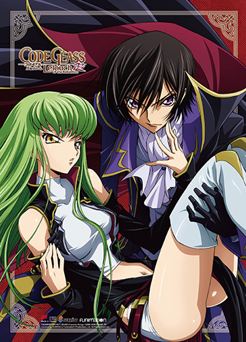 Code Geass S2 - Lelouch & Cc Wall Scroll, an officially licensed product in our Code Geass Wall Scroll Posters department.